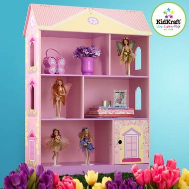 princess dollhouse bookcase   kidkraft kids