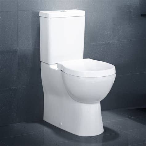 Caroma Plumbing by Caroma Opal I I Toilet Suite White With Soft Seat