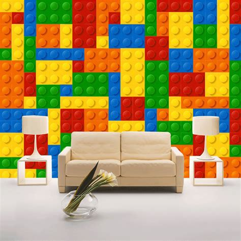 lego wallpaper for room aliexpress buy custom size 3d wall murals wallpaper for living room lego bricks children s