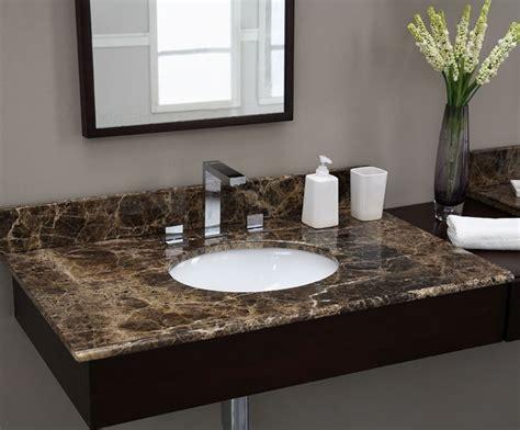 Marble Vanity Countertop by Emperador 49 Inch Marble Vanity Top