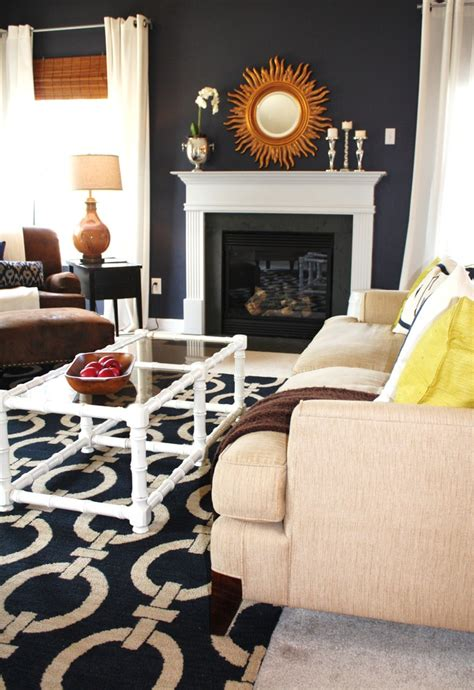 navy and white living room dazzling navy and white striped curtains decoration ideas for bedroom rustic