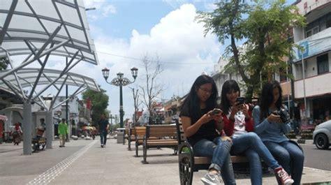 Wifi Jogja inilah 13 titik wi fi gratis di malioboro
