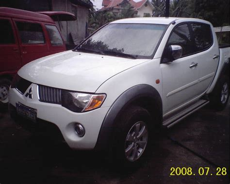 mitsubishi l200 2007 red65shop 2007 mitsubishi l200 specs photos modification