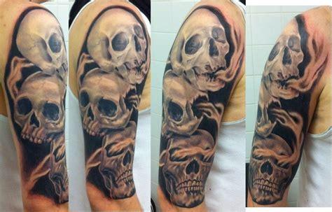 evil sleeve tattoo designs 1000 images about tattoos on skull tattoos