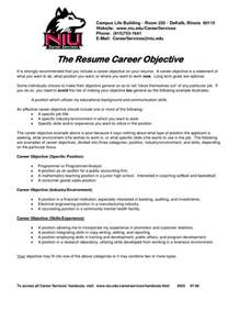 objective to put on a resume samples of resumes