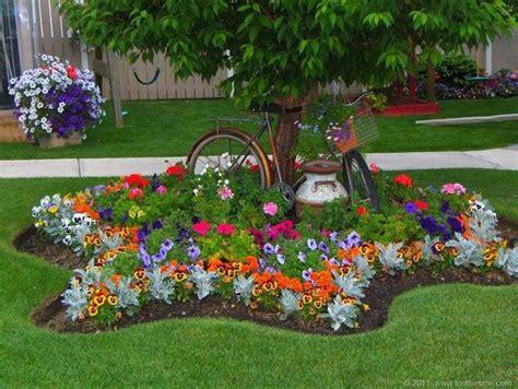 ideas para decorar un jardin con llantas de coche ideas para el jard 237 n plantas