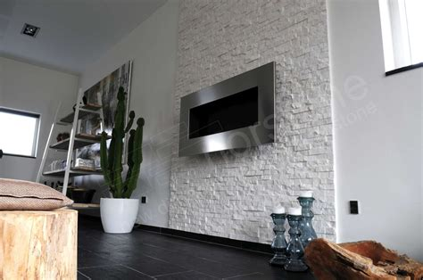 contemporary living room with stacked stone accent wall guest blogger the beauty of natural stacked stone in your