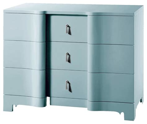 Blue Childrens Dresser by Bungalow 5 Brigitte Large Chest In Light Blue