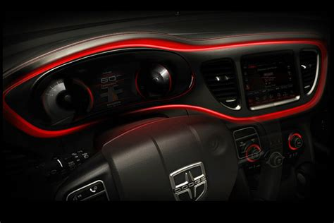 Dodge Dart Interior by 2013 Dodge Dart Compact Sedan Official Of The