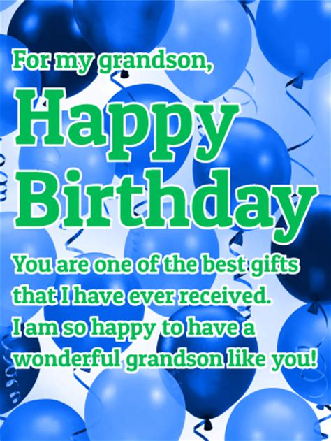 happy birthday two year my grandson logan is two years to a wonderful grandson happy birthday wish card