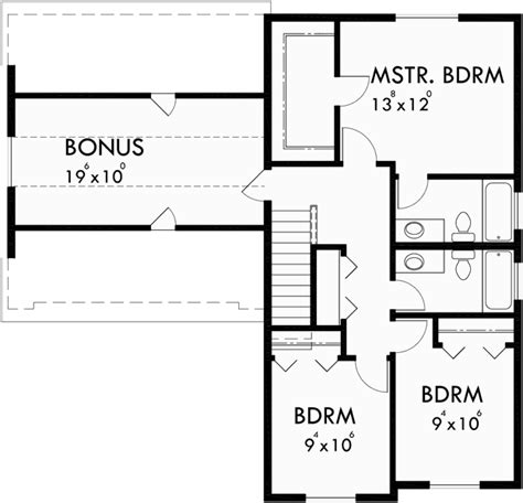 4 bedroom floor plans with bonus room farm house plan 4 bedroom house plan bonus room plan 10123