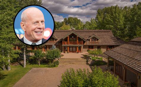 At Home Realty by Trying Bruce Willis S Idaho Ranch Back On The Market With A Sixth Price Cut Mansion Global