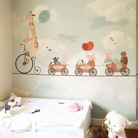Baby Room Wallpaper Designs - baby room wallpaper designs pattern clouds pink and grey