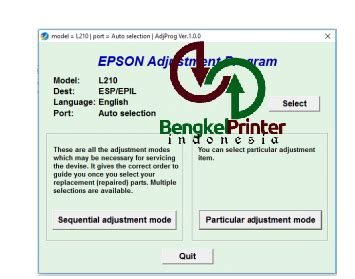 cara reset printer epson l210 service required cara mudah reset printer epson l110 l210 l300 l350 l355