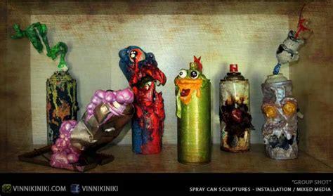 can sculpture vinni kiniki graffiti mural artist for hire artist made