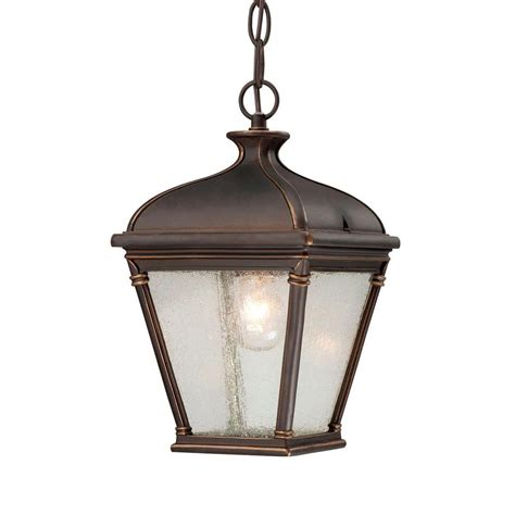 hton bay malford rubbed bronze outdoor hanging
