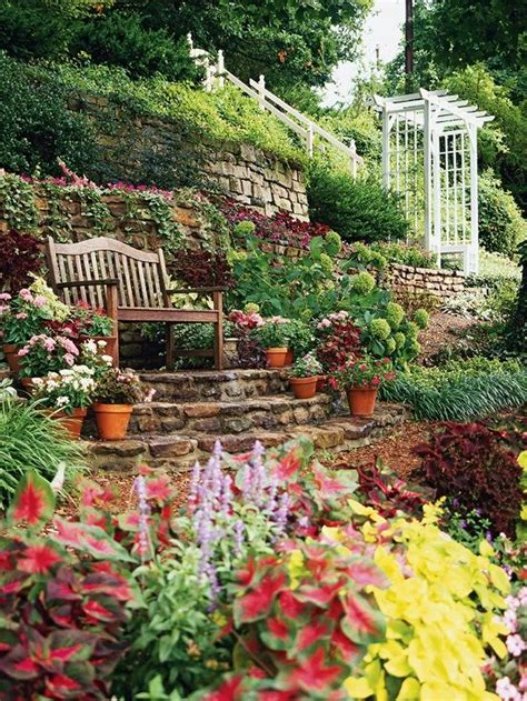 sloping garden ideas sloping garden ideas outdoor space