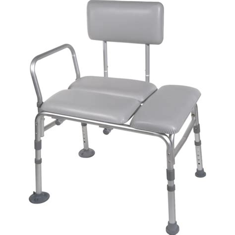 padded tub bench drive medical padded seat transfer bench walmart com