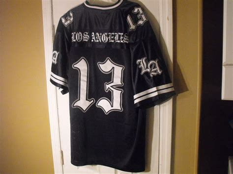 The Wizard Navy Brown Beachboys Ravre Originals navy blue los angeles 13 low rider sureno cholo chicano south side jersey