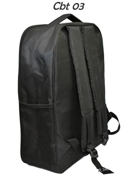 Tas Laptop Camelano Warna Hitam tas ransel backpack dengan ruang laptop warna hitam cbt 03