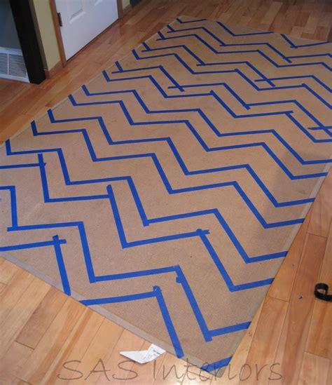 turn carpet into rug diy turning an rug into a chevron burger