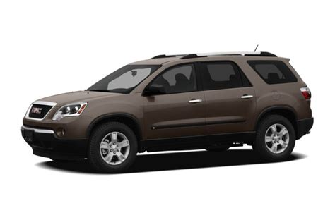 Gmc Acadia Reliability by 2012 Gmc Acadia Specs Safety Rating Mpg Carsdirect