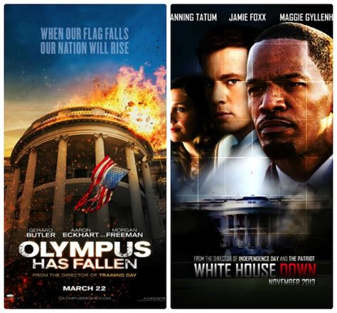 white house down vs olympus has fallen hollywood in a trash the white house frenzy 187 stevedennie com miscellaneous