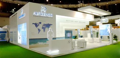 Paket Green Gas exhibition stall design and creative stall design for exhibition in india