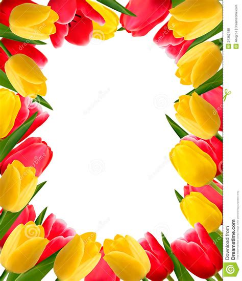 colorful spring flower background royalty free stock