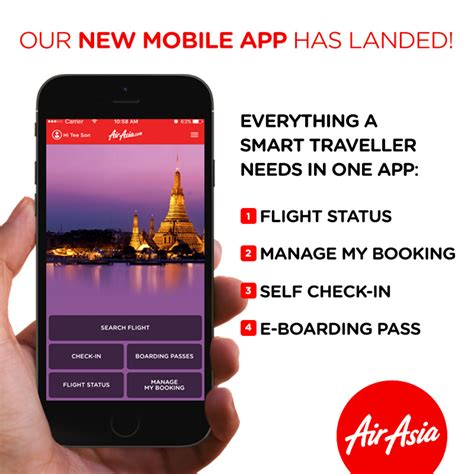 airasia online check in mobile airasia launches new mobile app economy traveller