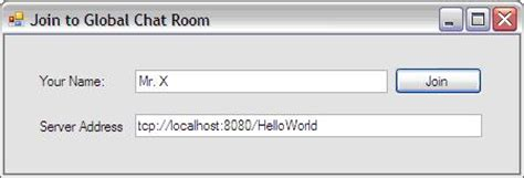 join the chat room global text chat room application using c net remoting technology codeproject