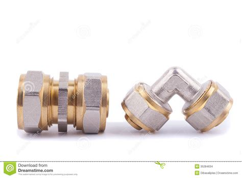 plumbing fittings stock images image 35284634
