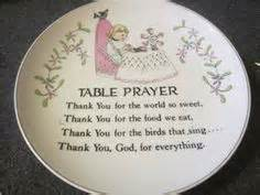 Table Prayers by Meal Prayers On Prayer Meals And Grace O Malley