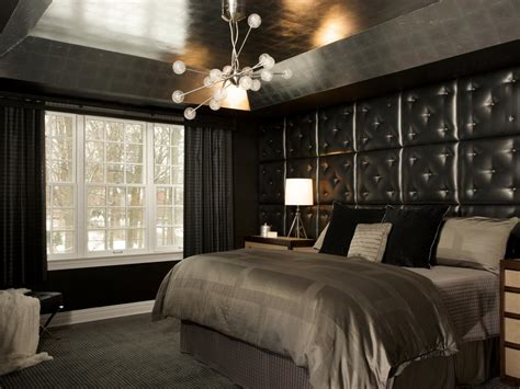 10 interesting black bedroom ideas and designs
