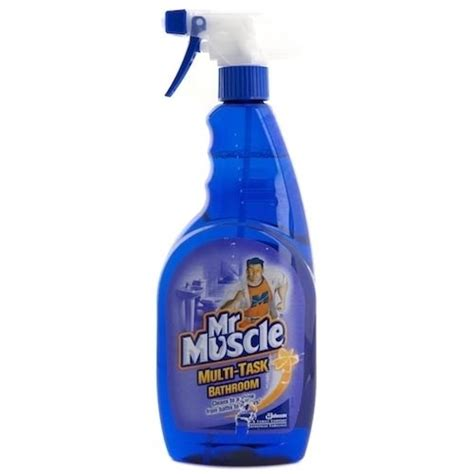 mr muscle toilet and bathroom cleaner mr muscle multi task bathroom toilet cleaner s c johnson 596155