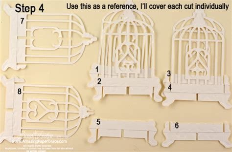 birdcage card template birdcage popup card and giftbox part 3 187 amazing paper grace