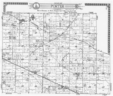Porter County Indiana Records Porter County Indiana Genweb Maps Autos Post