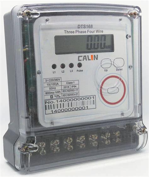 backlit lcd prepaid electricity meters 5a digital electric meter remote