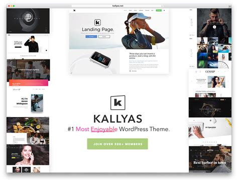 Download Kallyas Wordpress Theme by 40 Best Clean Wordpress Themes 2018 Colorlib