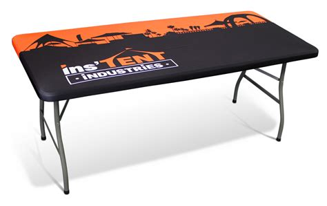 table drape with logo custom trade show tablecloths get your printed table covers