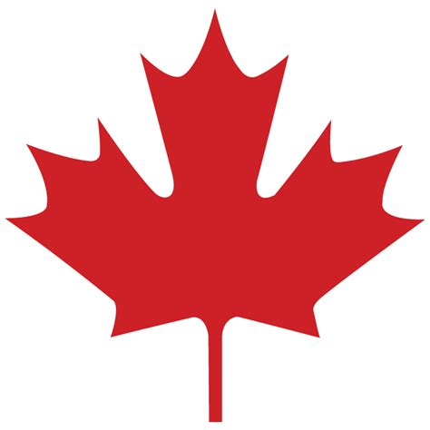 Canada Maple Leaf Outline by Canada Maple Leaf Logo Clipart Best