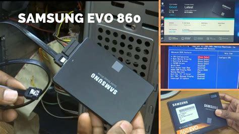 installing samsung evo  gb ssd   board unbox