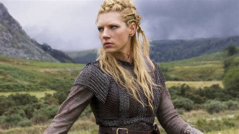 vikings hbo beaided hair vikings season 3 see photos of lagertha s new costumes