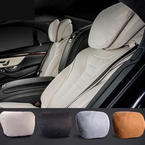 maybach design s class ultra soft natrual car headrest
