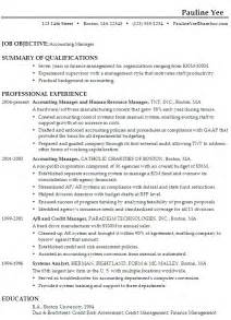 Job Resume Career Objective by Sample Resume Format Career Objective Resume Accountant