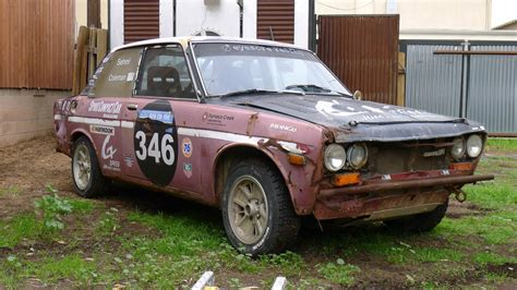 Datsun 510 Rally lemons team eyesore racing is selling the datsun 510 rally