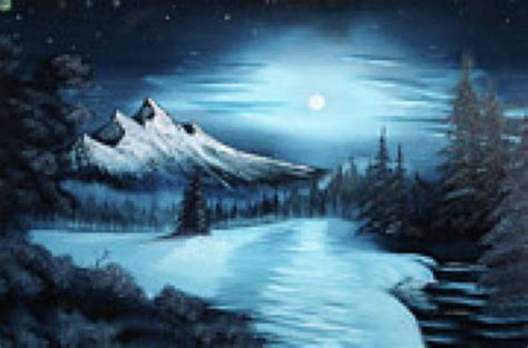 bob ross painting winter winter painting bob ross winter paintings for sale