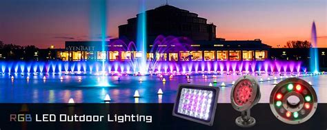 Rgb Landscape Lighting Rgb Led Outdoor Lighting Lamfield