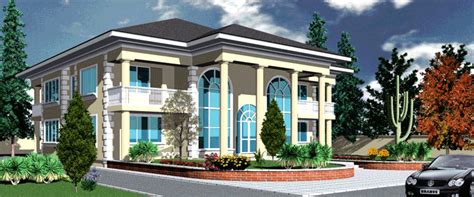 4 Bedroom Luxury Apartment Floor Plans by Ghana House Plans Yaa Naa House Plan