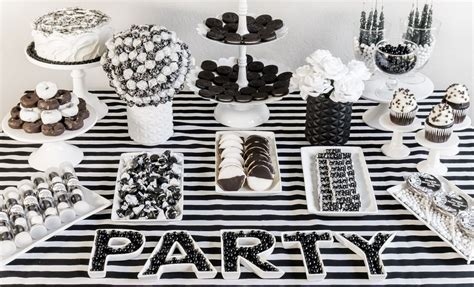 black and white decorations the best black and white ideas for new year s play